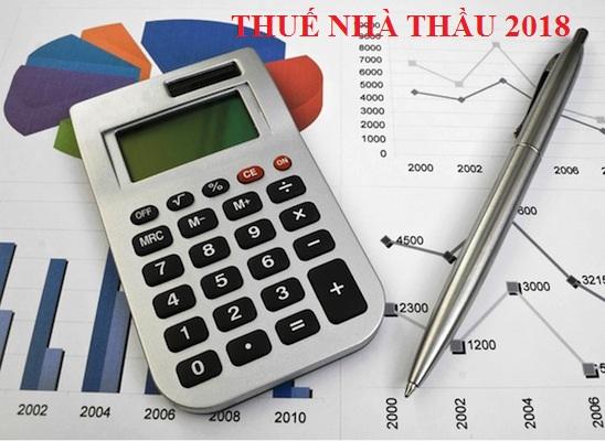 Dịch vụ quyết toán thuế nhà thầu