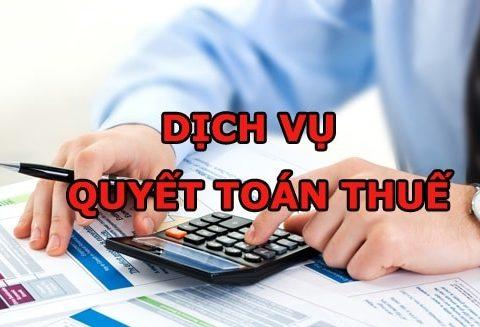 Dịch vụ quyết toán thuế TNDN