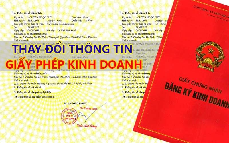 THỦ TỤC ĐĂNG KÝ, BỔ SUNG NGÀNH NGHỀ TRONG LĨNH VỰC KINH DOANH