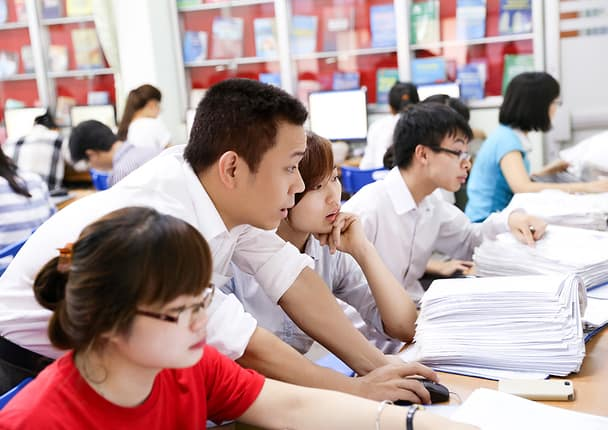 Học kế toán tại Thái Bình