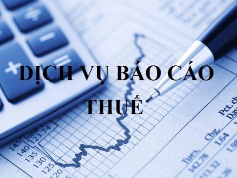 Dịch vụ báo cáo thuế doanh nghiệp uy tín