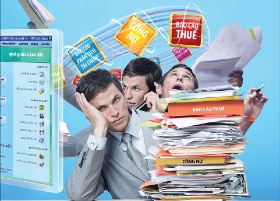 Dịch vụ hoàn thiện sổ kế toán thuế