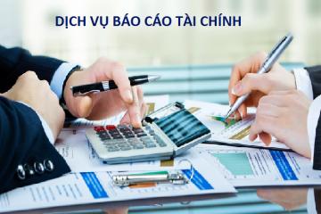 Dịch vụ nhận làm báo cáo tài chính của Phạm và Cộng Sự