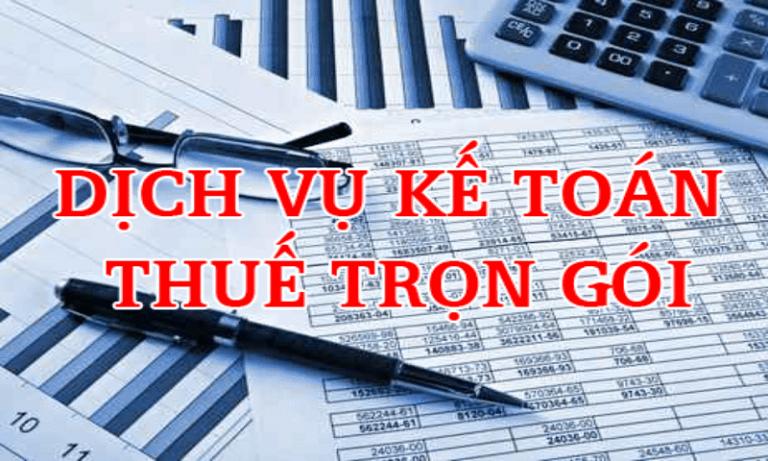 đơn vị cung cấp dịch vụ kết toán thuế trọn gói