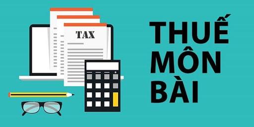 Hướng dẫn kê khai nộp thuế môn bài mới nhất 2020