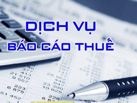 Dịch vụ báo cáo thuế doanh nghiệp là gì? báo cáo thuế cần nộp những loại giấy tờ gì?